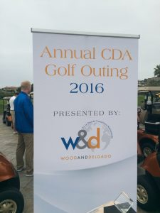 2016 CDA Golf Outing Banner